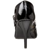 Noir Verni 10,5 cm VANITY-440 Escarpins Talons Hauts Hommes