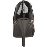 Noir Verni 10 cm DREAM-420 Escarpins Talons Aiguilles Hommes