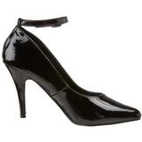 Noir Verni 10 cm VANITY-431 Escarpins Chaussures Femme