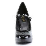 Noir Verni 11 cm BLISS-31 Escarpins Talon Aiguille Femmes