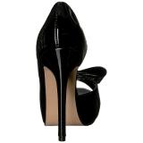 Noir Verni 12 cm LUMINA-32 Chaussures Escarpins de Soirée