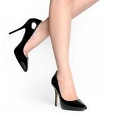 Noir Verni 13 cm AMUSE-20 Escarpins Talon Aiguille Femmes