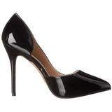 Noir Verni 13 cm AMUSE-22 Chaussures Escarpins Classiques