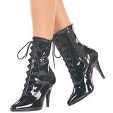 Noir Verni 13 cm SEDUCE-1020 Bottines Femmes pour Hommes
