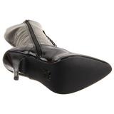 Noir Verni 13 cm SEDUCE-2020 Bottes à Lacets Femmes