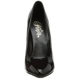 Noir Verni 15 cm DOMINA-420 Escarpins Talons Aiguilles Hommes