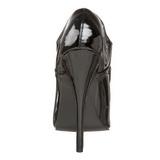 Noir Verni 15 cm DOMINA-460 Escarpins Talons Aiguilles Hommes