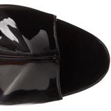 Noir Verni 16,5 cm Pleaser ILLUSION-1018 Plateforme Bottines