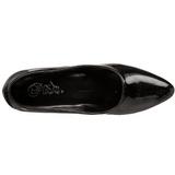 Noir Verni 5 cm FAB-420W Escarpins Chaussures Femme