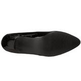 Noir Verni 5 cm FAB-420W escarpins à talons hauts