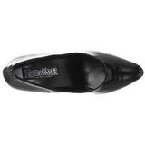 Noir Verni 7,5 cm PUMP-420 Chaussures Escarpins Classiques