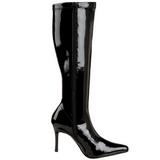 Noir Verni 9,5 cm FUNTASMA LUST-2000 Bottes Femmes