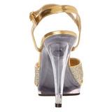 Or Etincelle 12 cm FLAIR-419G Sandales Femme a Talon