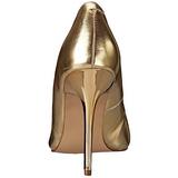Or Mat 10 cm CLASSIQUE-20 Escarpins Talons Aiguilles Hommes