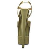 Or Scintillement 20 cm Pleaser FLAMINGO-809-2G Talons Aiguilles Plateforme