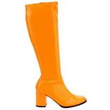 Orange Neon 7,5 cm FUNTASMA GOGO-300UV Bottes Femmes