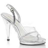 Pierre strass 11,5 cm FLAIR-456 chaussures travesti