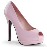 Pink Verni 13,5 cm BELLA-12 Escarpins Talon Aiguille Femmes