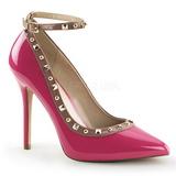 Pink Verni 13 cm AMUSE-28 Chaussures Escarpins Classiques