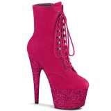 Pink glitter 18 cm ADORE-1020FSMG exotic bottines de pole dance