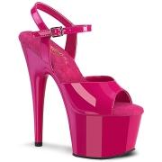 Pink plateforme 18 cm ADORE-709 talons hauts pleaser