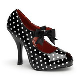 Points Blancs 12 cm CUTIEPIE-07 Escarpins Chaussures Femme