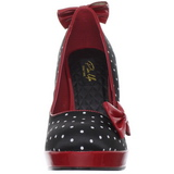 Points Blancs 12 cm SECRET-12 Escarpins Chaussures Femme