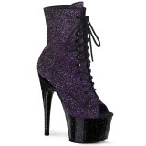 Pourpre paillettes 18 cm ADORE-1021MBG bottines de pole dance