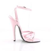 Rose 15 cm DOMINA-108 chaussures fetish à talons