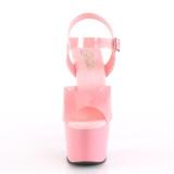 Rose 18 cm ADORE-708N Plateforme Chaussures Talon Haut