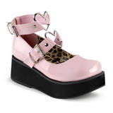 Rose 6 cm SPRITE-02 plateforme chaussures lolita