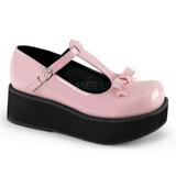 Rose 6 cm SPRITE-03 plateforme chaussures lolita