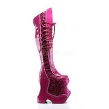 Rose Etinceler 22 cm FABULOUS-3035 Bottes pour Drag Queen