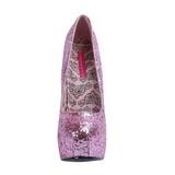 Rose Etincelle 14,5 cm Burlesque BORDELLO TEEZE-06G Escarpins Haut Talon