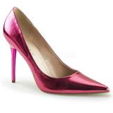 Rose Métallique 10 cm CLASSIQUE-20 grande taille chaussures stilettos