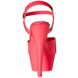 Rose Neon 15 cm Pleaser KISS-209UV Plateforme Haut Talon