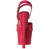 Rose Neon 18 cm Pleaser SKY-309UV Plateforme Haut Talon