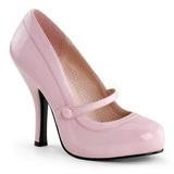 Rose Verni 12 cm CUTIEPIE-02 Escarpins Chaussures Femme