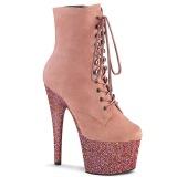 Rose glitter 18 cm ADORE-1020FSMG exotic bottines de pole dance
