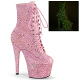Rose glitter 18 cm ADORE-1020GDLG bottines de pole dance