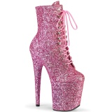 Rose glitter 20 cm FLAMINGO-1020GWR exotic bottines de pole dance