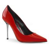 Rouge 10 cm APPEAL-20 escarpins talons aiguilles metal
