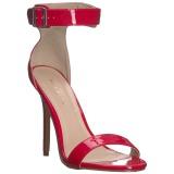 Rouge 13 cm AMUSE-10 chaussures travesti