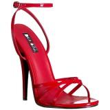 Rouge 15 cm DOMINA-108 chaussures fetish à talons