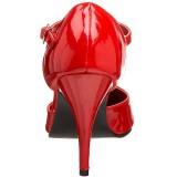 Rouge Verni 10,5 cm VANITY-415 Escarpins Talons Hauts Hommes