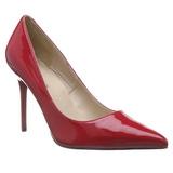 Rouge Verni 10 cm CLASSIQUE-20 Escarpins Talon Aiguille Femmes