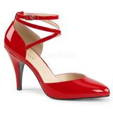 Rouge Verni 10 cm DREAM-408 grande taille escarpins femmes