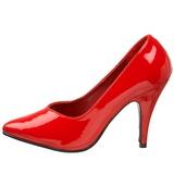 Rouge Verni 10 cm DREAM-420 escarpins à talons hauts