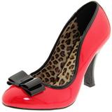 Rouge Verni 10 cm SMITTEN-01 Escarpins Chaussures Femme