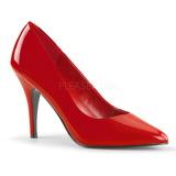 Rouge Verni 10 cm VANITY-420 Escarpins Chaussures Femme